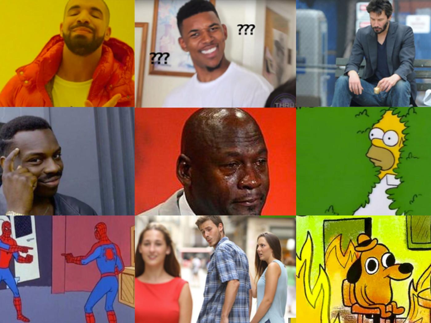 The Most Famous Internet Memes